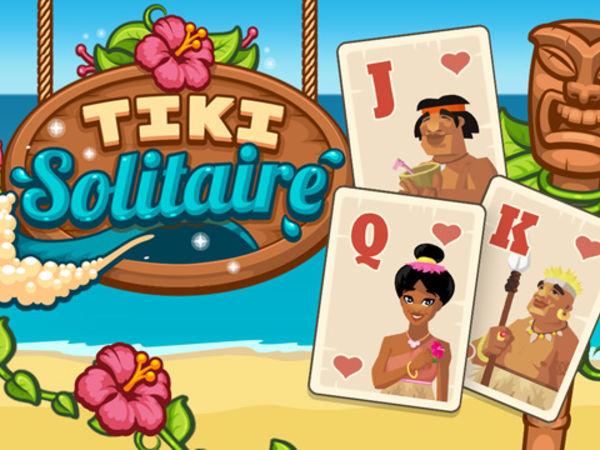 Bild zu Denken-Spiel Tiki Solitaire
