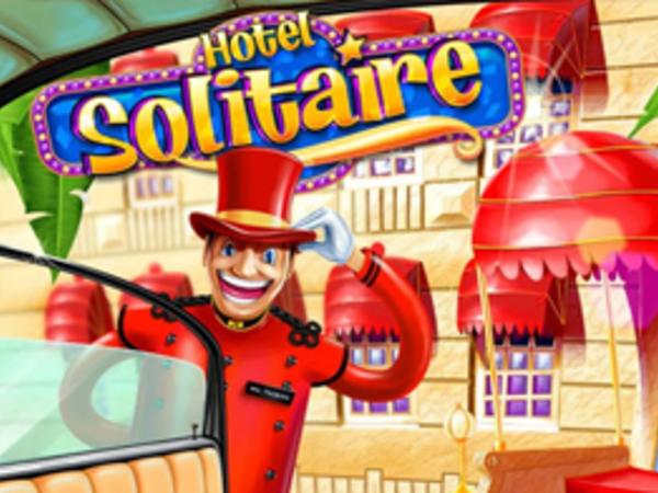 Bild zu Denken-Spiel Hotel Solitaire