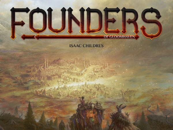 Bild zu Alle Brettspiele-Spiel Founders of Gloomhaven