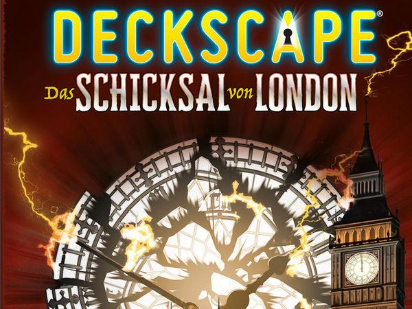 Bild zu Alle Brettspiele-Spiel Deckscape: Das Schicksal von London