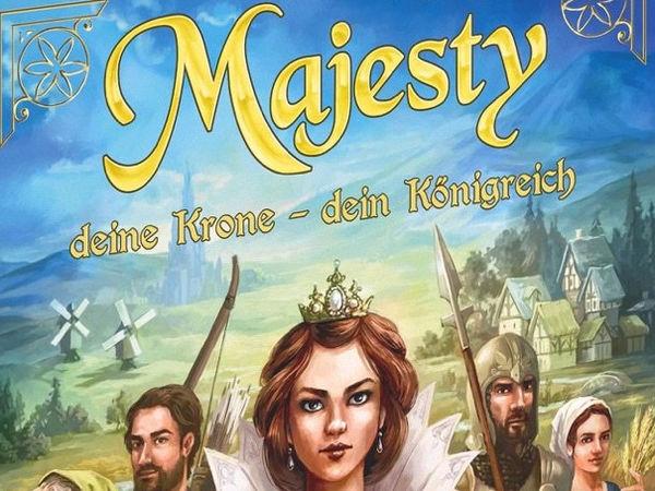 Bild zu Spiel des Jahres-Spiel Majesty: Deine Krone, Dein Königreich