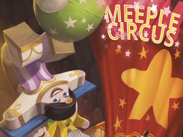Bild zu Alle Brettspiele-Spiel Meeple Circus