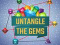 Denken-Spiel Untangle the Gems spielen