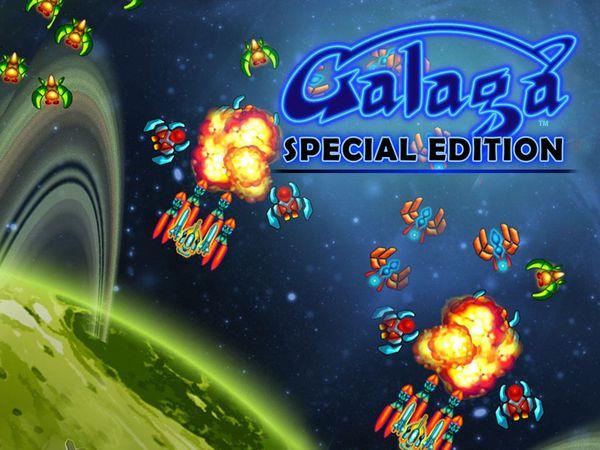 Bild zu Action-Spiel Galaga Special Edition