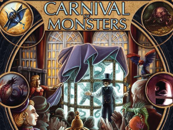 Bild zu Alle Brettspiele-Spiel Carnival of Monsters
