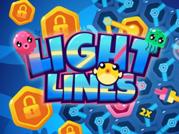 Bild zu Denken-Spiel Light lines
