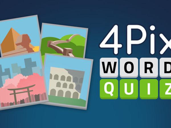 Bild zu Denken-Spiel 4 Pix Word Quiz