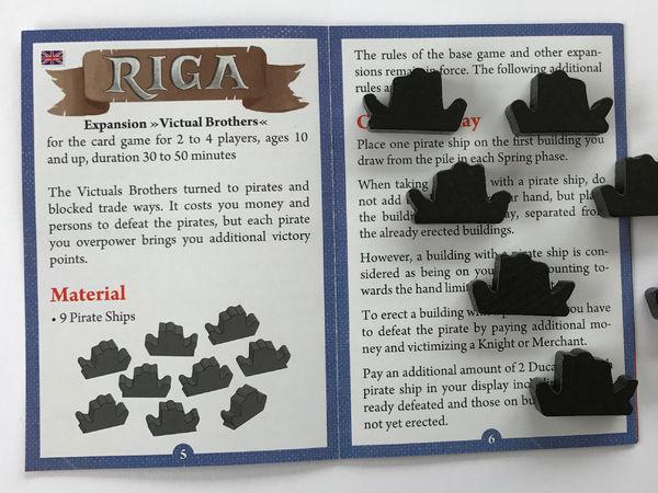 Bild zu Alle Brettspiele-Spiel Riga: Die Vitalienbrüder