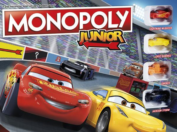 Bild zu Alle Brettspiele-Spiel Monopoly Junior Cars 3
