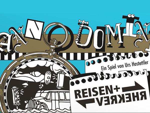 Bild zu Alle Brettspiele-Spiel Anno Domini - Reisen und Verkehr