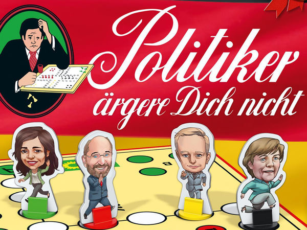 Bild zu Alle Brettspiele-Spiel Politiker ärgere Dich nicht!