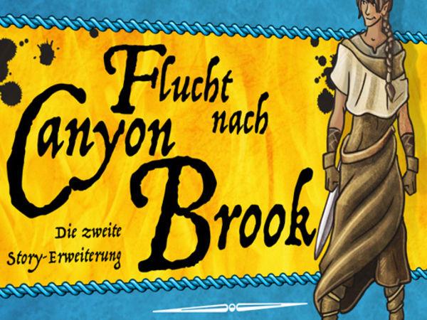 Bild zu Alle Brettspiele-Spiel Oh my Goods: Flucht nach Canyon Brook