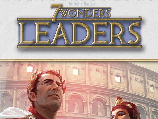 Bild zu Alle Brettspiele-Spiel 7 Wonders: Leaders Anniversary Pack