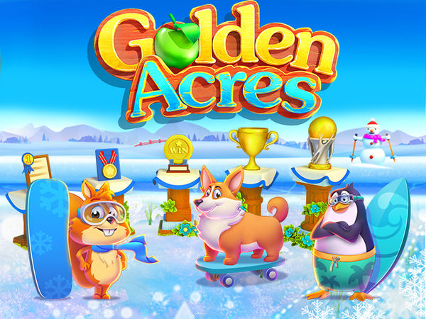 Bild zu Strategie-Spiel Golden Acres