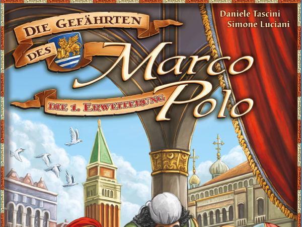 Bild zu Alle Brettspiele-Spiel Die Gefährten des Marco Polo