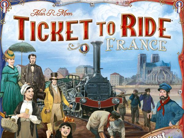 Bild zu Alle Brettspiele-Spiel Zug um Zug: Frankreich