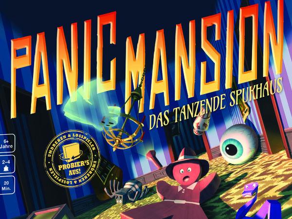 Bild zu Ausgezeichnet 2018-Spiel Panic Mansion: Das tanzende Spukhaus