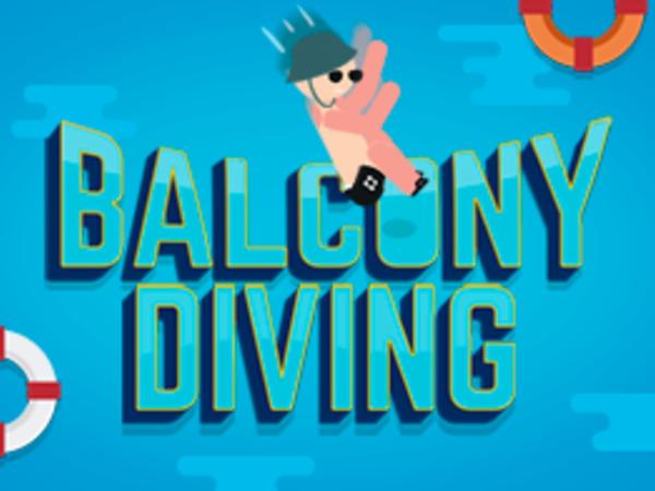 Bild zu Geschick-Spiel Balcony Diving