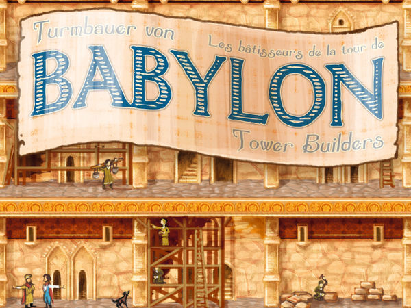 Bild zu Alle Brettspiele-Spiel Turmbauer von Babylon