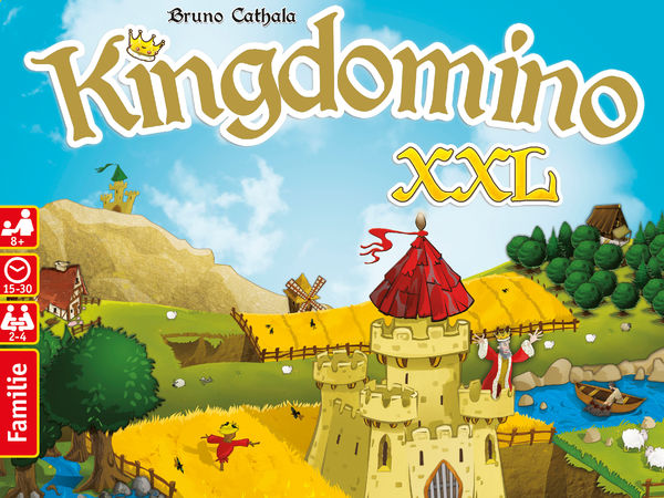 Bild zu Alle Brettspiele-Spiel Kingdomino XXL