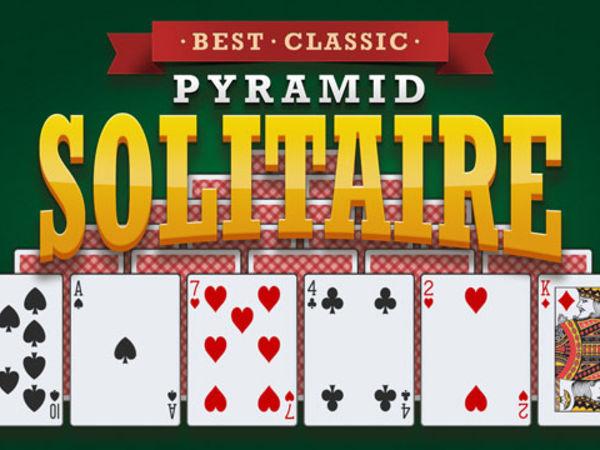 Bild zu Denken-Spiel Best Classic Pyramid Solitaire