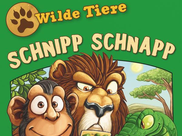 Bild zu Alle Brettspiele-Spiel Wilde Tiere - Schnipp Schnapp