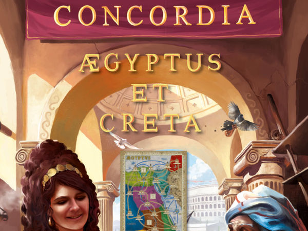 Bild zu Alle Brettspiele-Spiel Concordia: Aegyptus & Creta