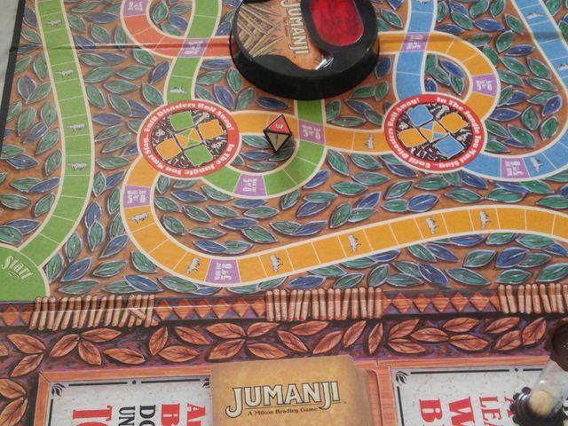 Jumanji Brettspiel Anleitung