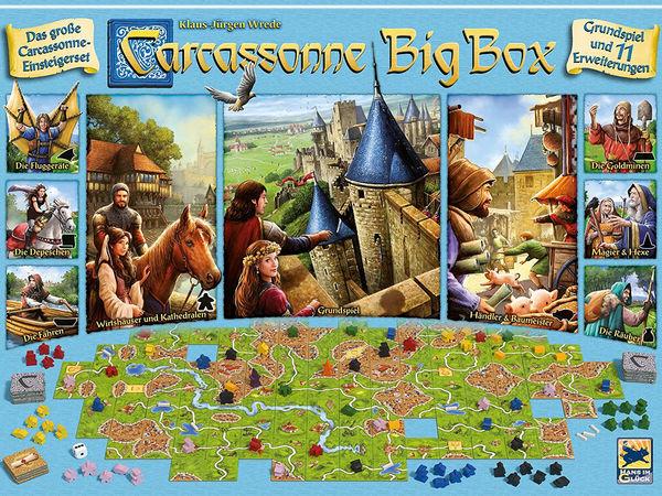 Bild zu Alle Brettspiele-Spiel Carcassonne: Big Box 2017