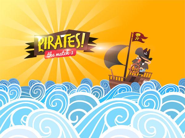 Bild zu Denken-Spiel Pirates! The Match-3