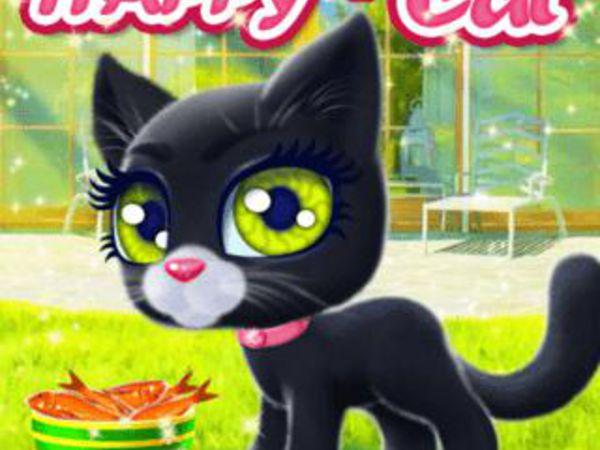 Bild zu Mädchen-Spiel Happy Cat
