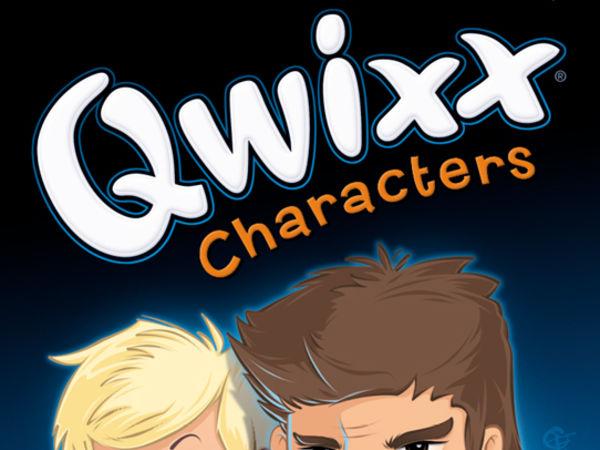Bild zu Alle Brettspiele-Spiel Qwixx: Characters