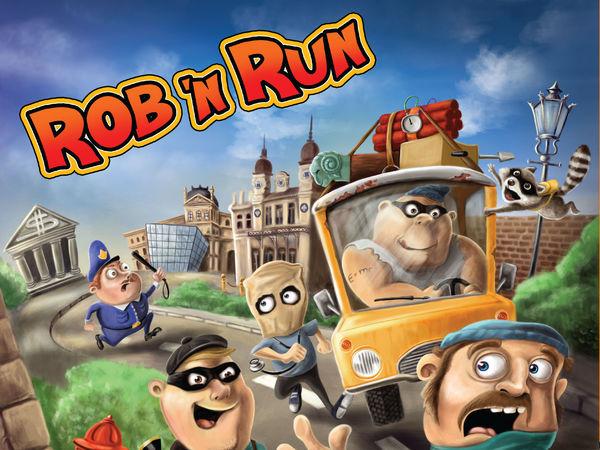 Bild zu Alle Brettspiele-Spiel Rob 'n Run