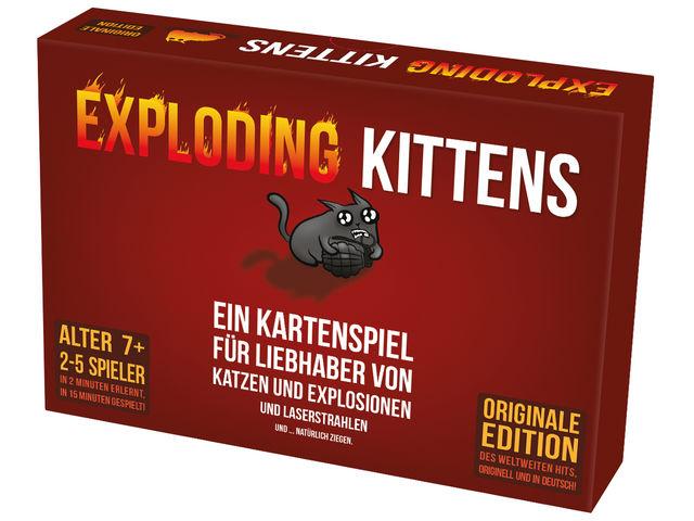 Exploding Kittens Bild 1