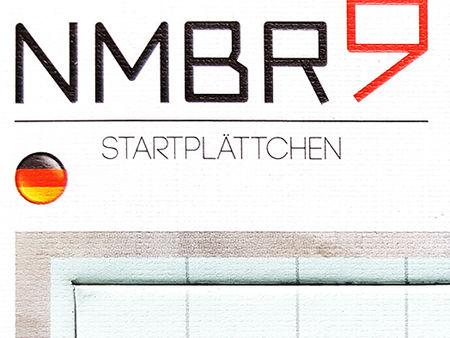 NMBR 9: Startplättchen