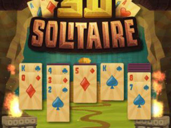 Bild zu Denken-Spiel 3D Solitaire