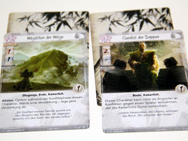 Legend of the Five Rings: Das Kartenspiel Bild 1