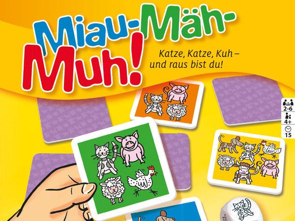 Bild zu Alle Brettspiele-Spiel Miau Mäh Muh