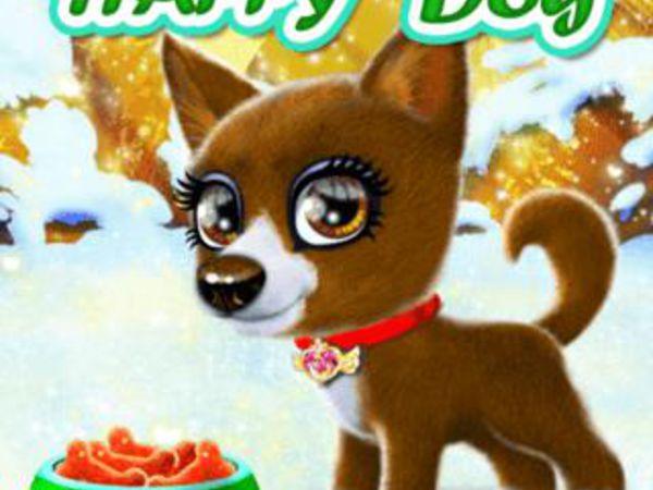 Bild zu Mädchen-Spiel Happy Dog