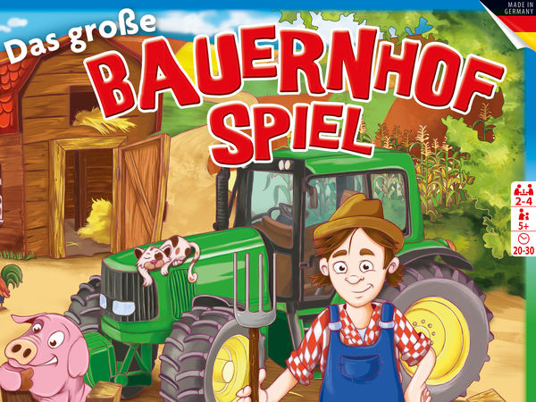 Bild zu Alle Brettspiele-Spiel Das große Bauernhofspiel