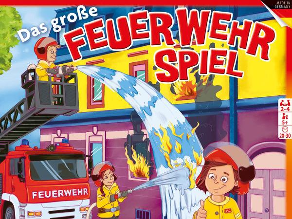 Bild zu Alle Brettspiele-Spiel Das große Feuerwehrspiel