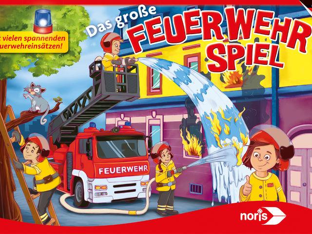 Das große Feuerwehrspiel Bild 1