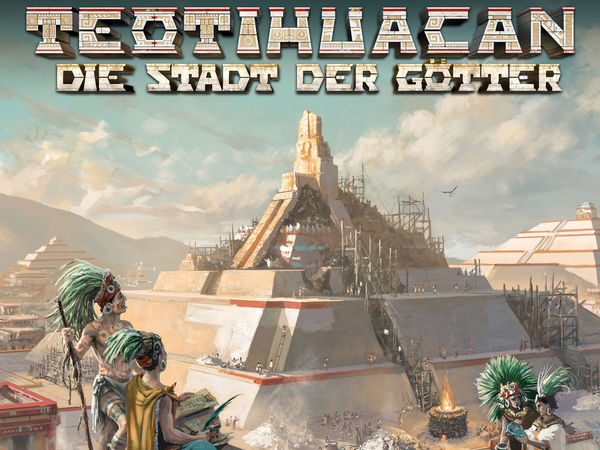 Bild zu Alle Brettspiele-Spiel Teotihuacan: Die Stadt der Götter
