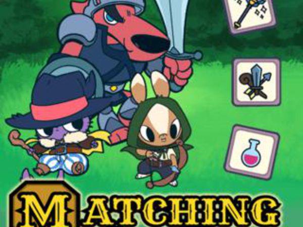Bild zu Klassiker-Spiel Matching Card Heroes