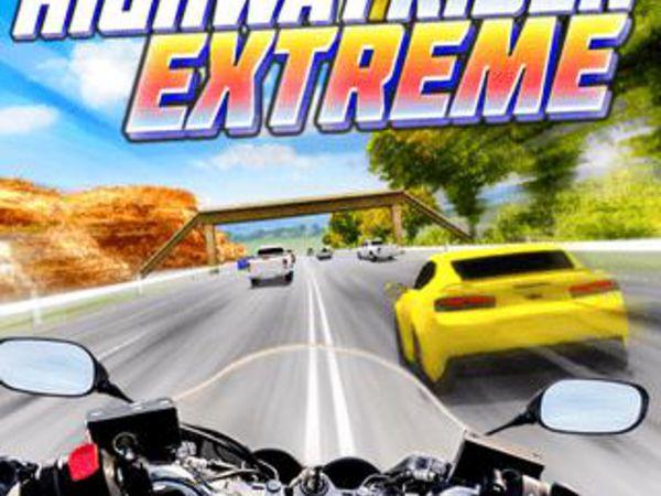 Bild zu Rennen-Spiel Highway Rider Extreme
