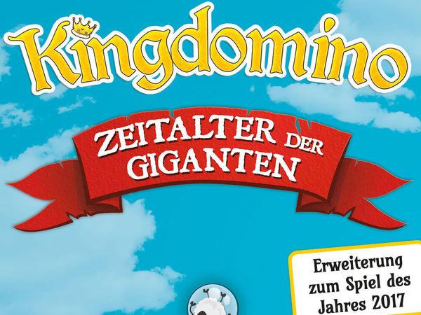 Bild zu Alle Brettspiele-Spiel Kingdomino: Zeitalter der Giganten