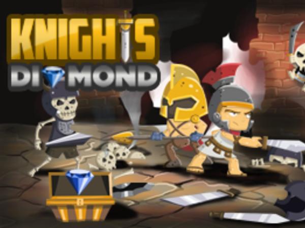 Bild zu Geschick-Spiel Knights and Diamond