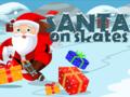 Neu-Spiel Santa on skates spielen