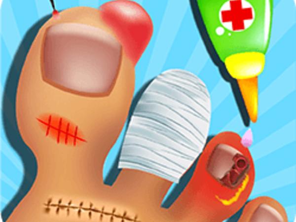 Bild zu Mädchen-Spiel Nail Doctor