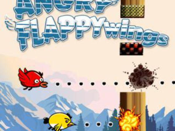 Bild zu Action-Spiel Angry Flappy Wings